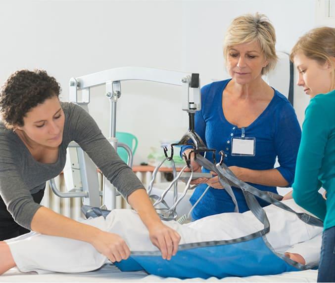 Ceiling Hoists Aged Care - CHS Healthcare