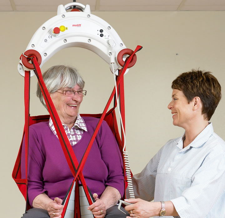 Ceiling Hoists Solutions - woman